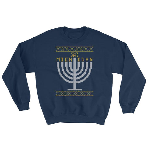 U of Michigan - Menorah Ugly Sweater