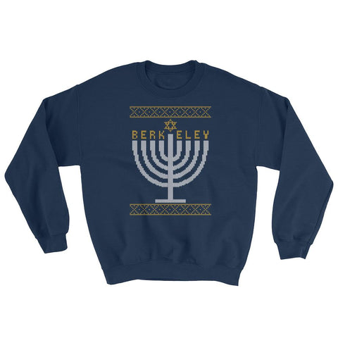 U of California - Berkeley - Menorah Ugly Sweater