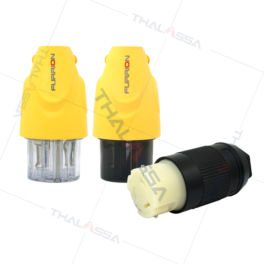 FURRION Waterproof Plug and Socket 16A30A Yacht Marina Shore Power Plug Industrial Camp Power - GenuineMarine