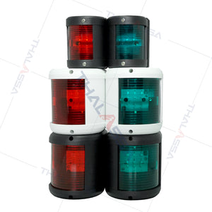 12V2W yacht navigation lights left and right traffic lights tail lights warning lights ship side lights lighting accessories - GenuineMarine