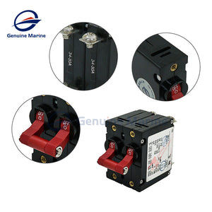 Double Pole 30Amp Circuit Breaker Electric Magnetic for Boat RV - GenuineMarine
