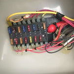 8 Way Blade ATO/ATC/ATS Fuse Junction Box - GenuineMarine