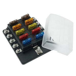 100A ST 10 Bit Blade Fuse Box Bolt Terminal - GenuineMarine
