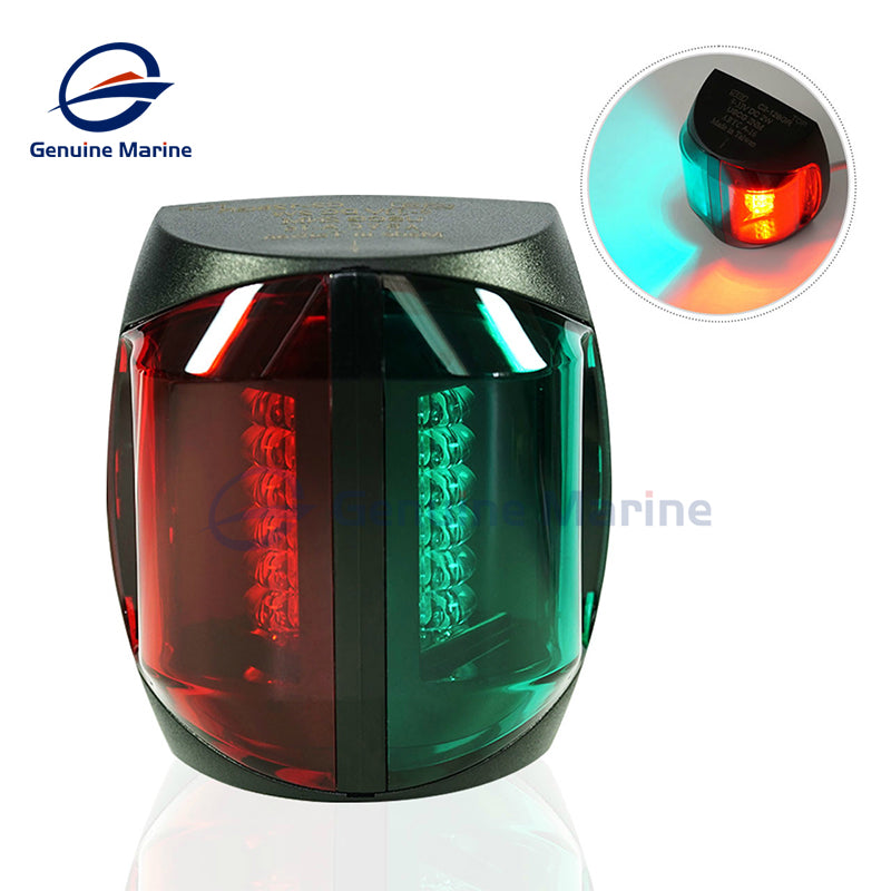12V DC 2W LED Bi-Color Navigation Light  3 Nautical Miles - GenuineMarine