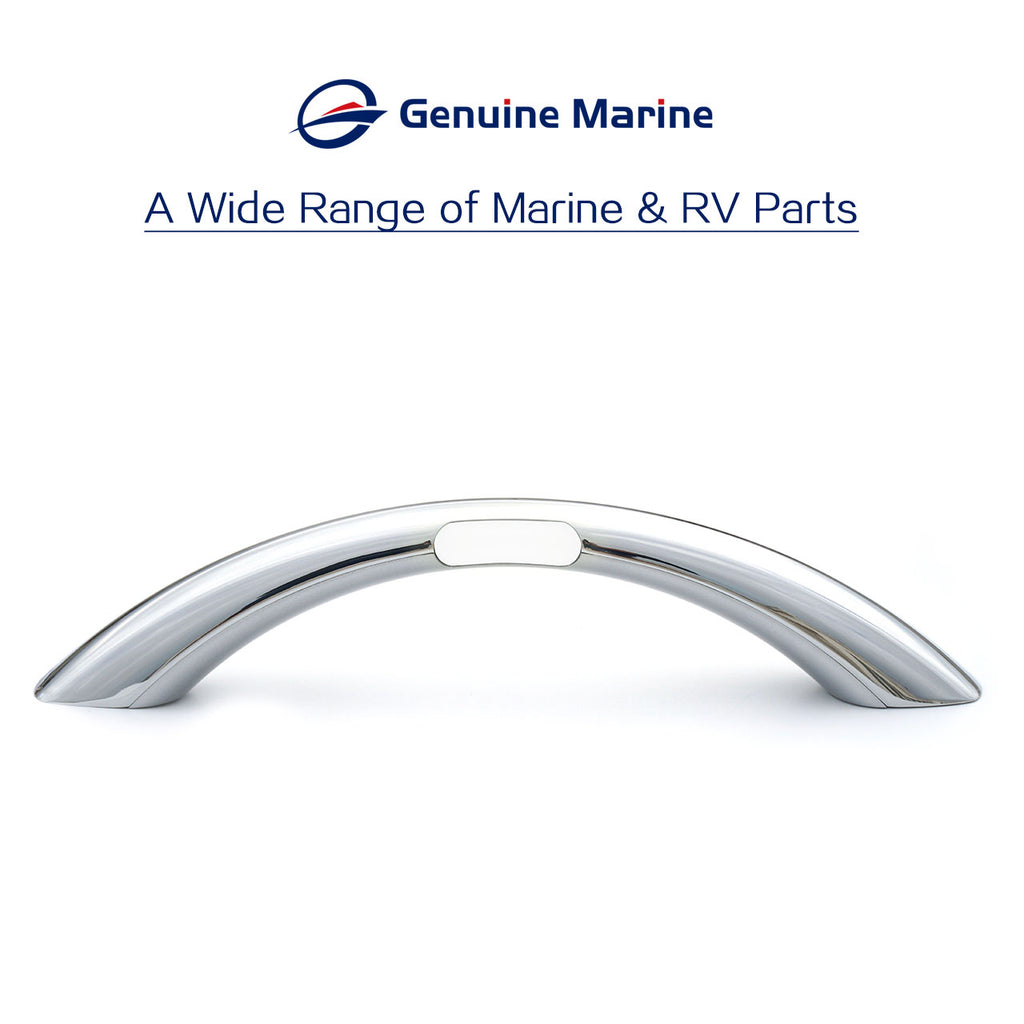 Aluminum RV Door Handle Grab Bar for RV Marine Boat= - GenuineMarine