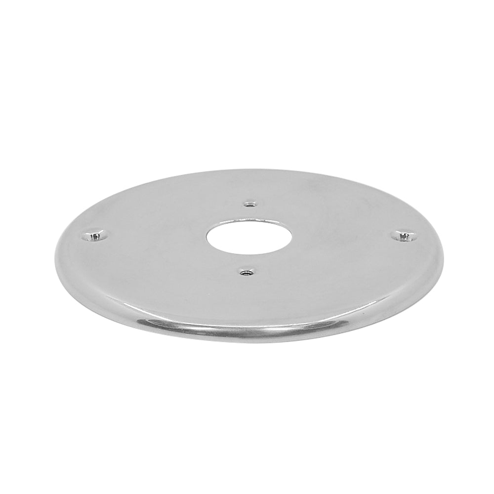 Stainless Steel Hole Cover Plate for Small Base LED Reading Lamps Installation - GenuineMarine