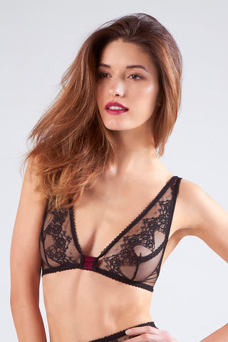 Oleander Triangle Shoulder Bra