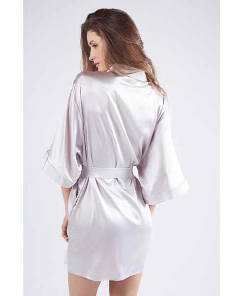 Bisou Bisou Mercury Silk Dressing Gown