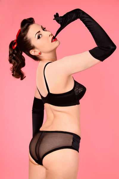 Retro Ella Satin Knickers