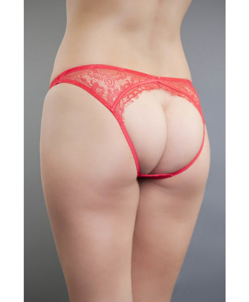 Angelina Red Cut Out Brief