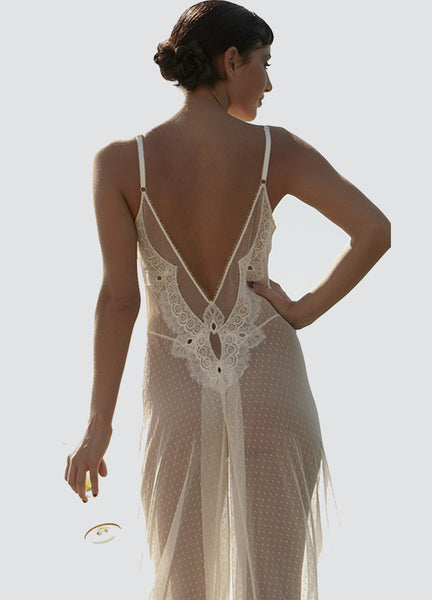 Seduce Me Gown - Ivory