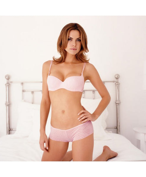 Soire Demi Cup Bra Pink Lily