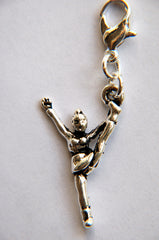 Cheer heel stretch charm