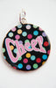 Cheer polka dot necklace pendant