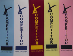 Competitor ribbons
