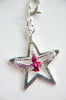 Toe touch star cheerleader charm
