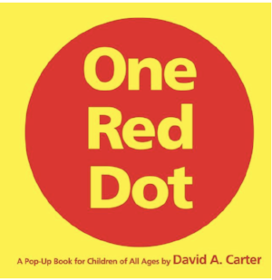 One Red Dot Pop Up Book