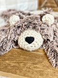 Brown Frosted Bear Lovey