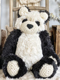 ClaraLoo Large Plush Bear Bud - Panda Minky