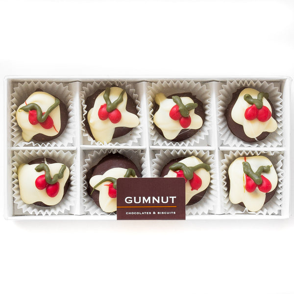 Christmas Pudding Truffle Chocolates (box of 8 truffles/120 grams)