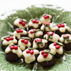 Christmas Pudding Truffle Chocolates (box of 12 truffles/200 grams)
