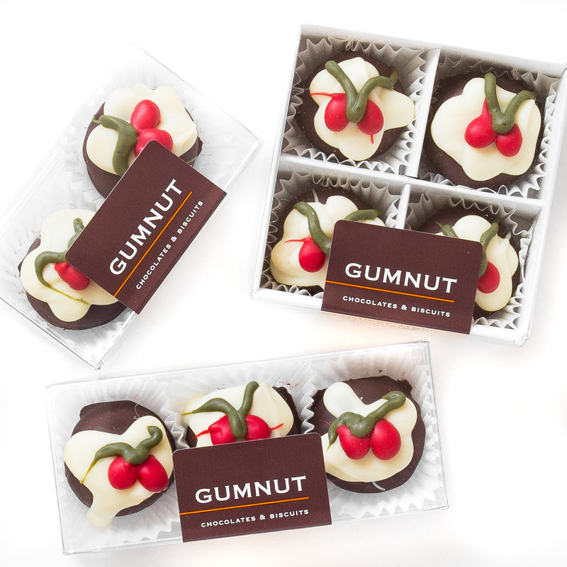 Christmas Pudding Truffle Chocolates (box of 3 truffles)