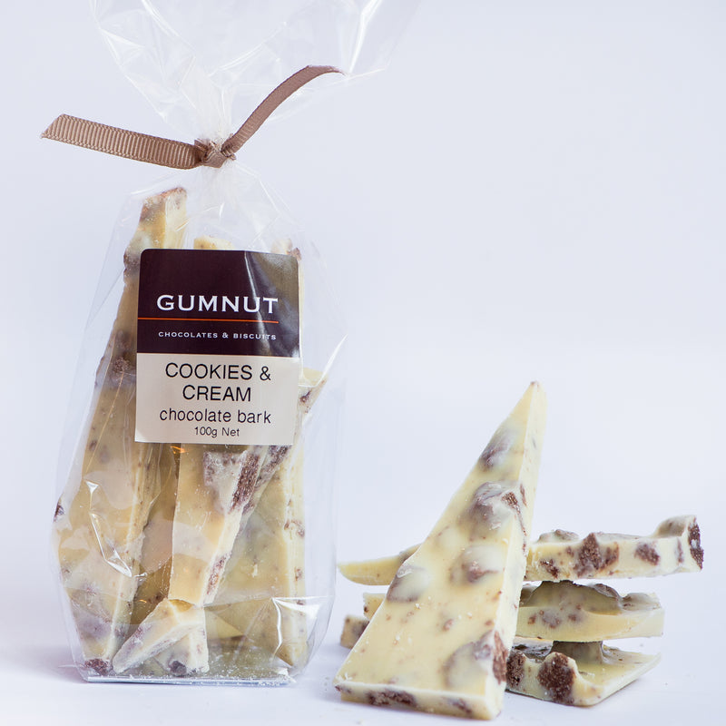 Cookies and Cream Chocolate Bark 100g