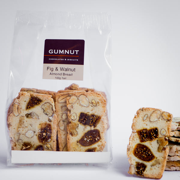 Fig, Walnut & Almond Bread (100g pack)