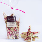 White Chocolate, Raspberry & Pistachio Bark 100g