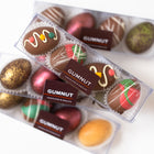 Milk Chocolate/Salted Caramel Truffle Easter Eggs (box of 4 eggs/120 grams)