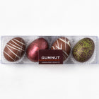 Milk & Dark Chocolate Truffle Easter Eggs (box of 4 eggs/120 grams)