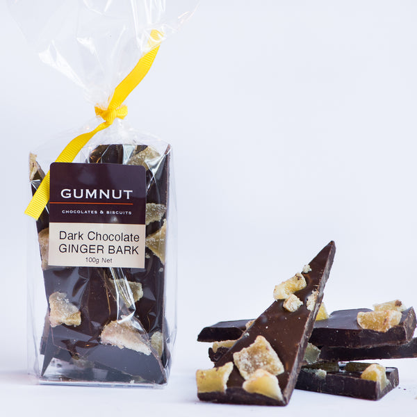 Dark Chocolate Ginger Bark 100g