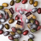 Vegan dark chocolate shimmer Easter eggs (bag of 8 eggs/120 grams)