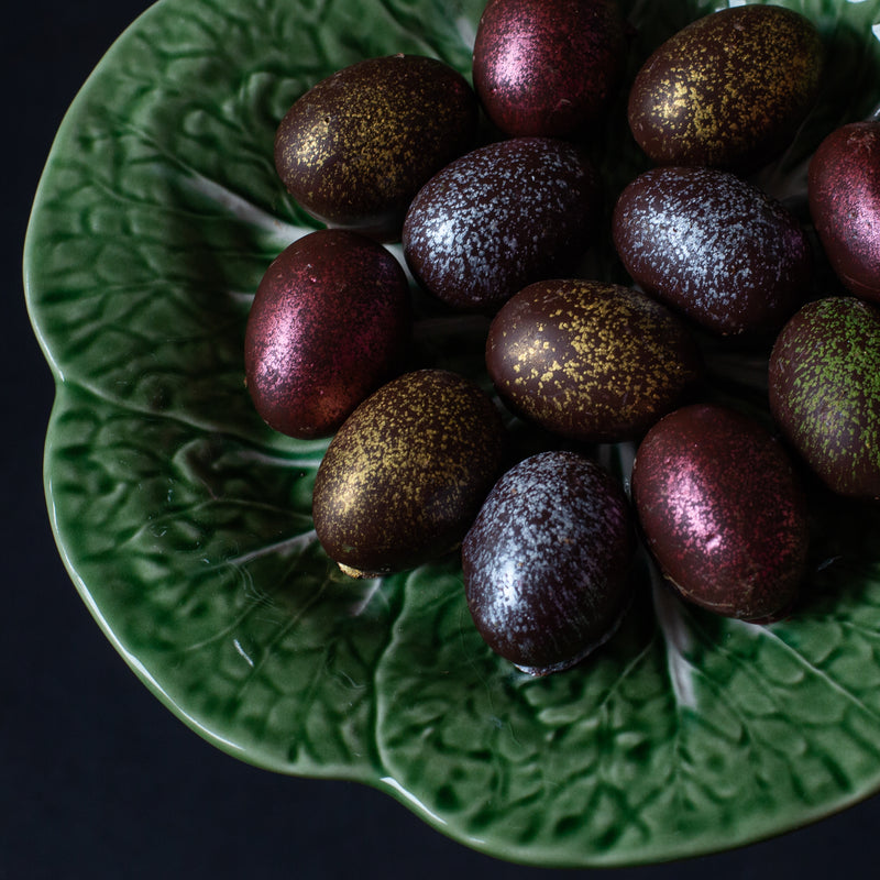 Dark Chocolate Truffle Easter Eggs (box of 2 eggs/60 grams)