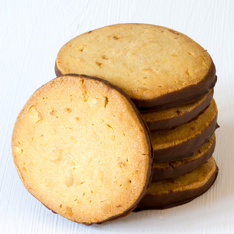 Macadamia Shortbread (pack of 6 biscuits)