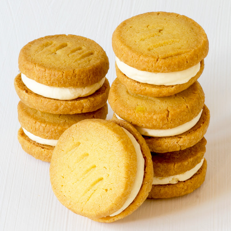 Classic Vanilla Melting Moments (box of 6 biscuits)