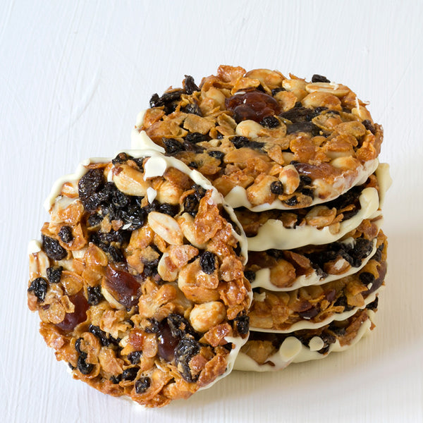 White Chocolate Florentine (pack of 6 florentines) gluten free