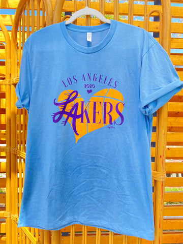 Lakers Blue Retro Collection