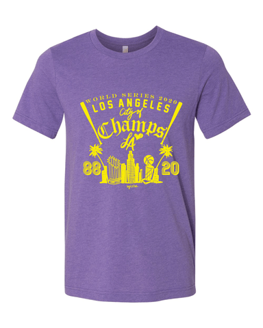 PURPLE 2020 Champs UNISEX Tshirt