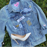Blue Jean Baby by IvyLove Bridal Jean Jacket ROSE Gold Collection