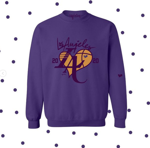 LA Purple & Gold 2020 Sweatshirt