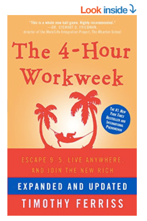 4-Hour Workweek Tim Ferris Book Cover