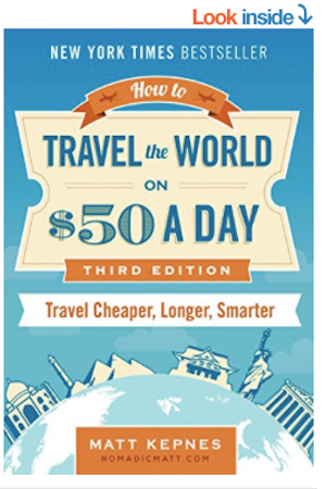How to Travel the World on $50 a Day on Amazon