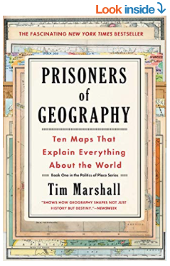 Prisoners of Geography Amazon Book Cover