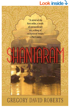 Shantaram Amazon Book Cover