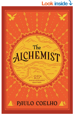 The Alchemist Amazon Book Cover