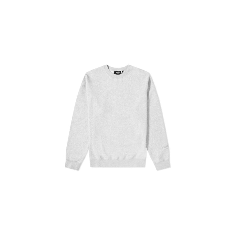 FEAR OF GOD ESSENTIALS Core Pullover Crewneck Heather Grey - Centrall Online