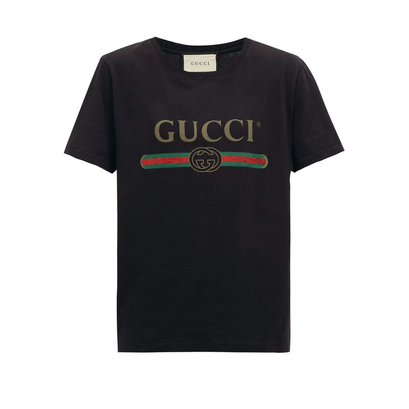 Gucci Black Logo T-Shirt - Centrall Online