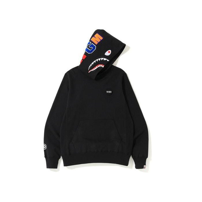 BAPE - Black Shark Patch Emblem Pullover Hoodie
