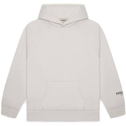 FEAR OF GOD ESSENTIALS Core Pullover Hoodie Heather Grey - Centrall Online